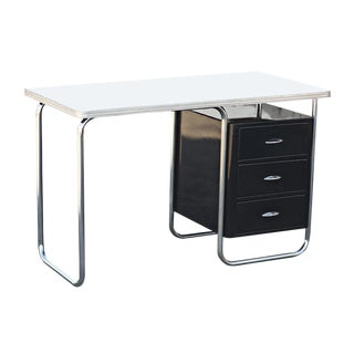 Vintage 1930s Royal Chrome Texaco Desk