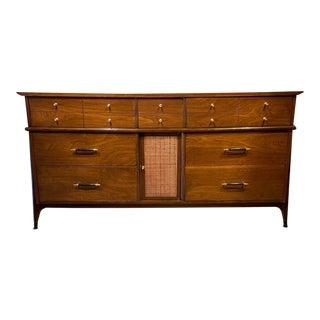 Mid-Century United Furniture Co Walnut Credenza For Sale