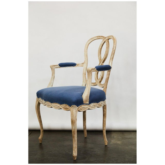 1930s Pair of Bergere Chairs For Sale - Image 5 of 9