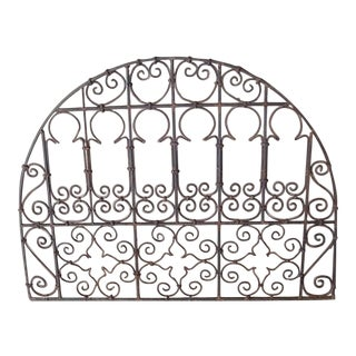 Iron Work Transom