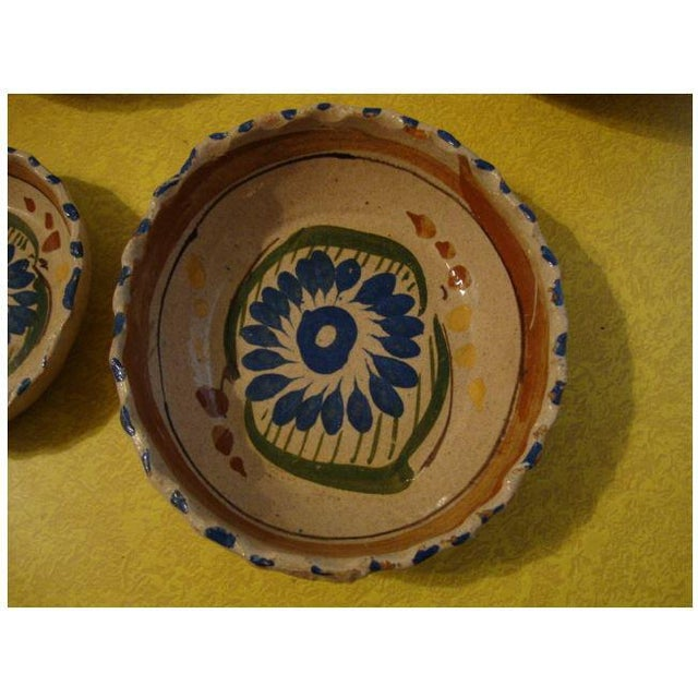 Mid 20th Century Tlaquepaque Mexican Nesting Bowls - Set of 4 For Sale - Image 5 of 10