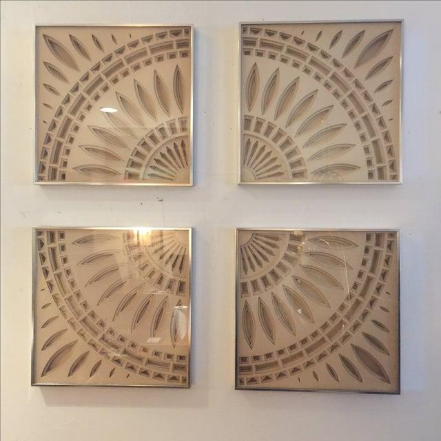 Greg Copeland 3D Paper Wall Art - Set of 4 | Chairish