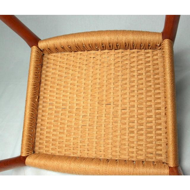 Teak Niels Moller Danish Modern Model No. 83 Teak Dining Chairs - Set of 4 For Sale - Image 7 of 9
