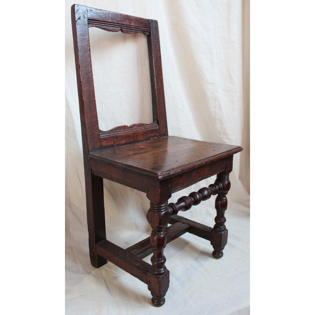 Antique Oak Nun's Chairs - Set of 3 - Image 5 of 10