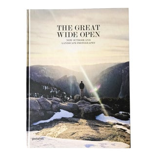 """The Great Wide Open"" Large Hardcover Landscape Photography Book"