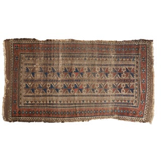 "Antique Belouch Rug Runner - 2'8"" X 4'9"" For Sale"