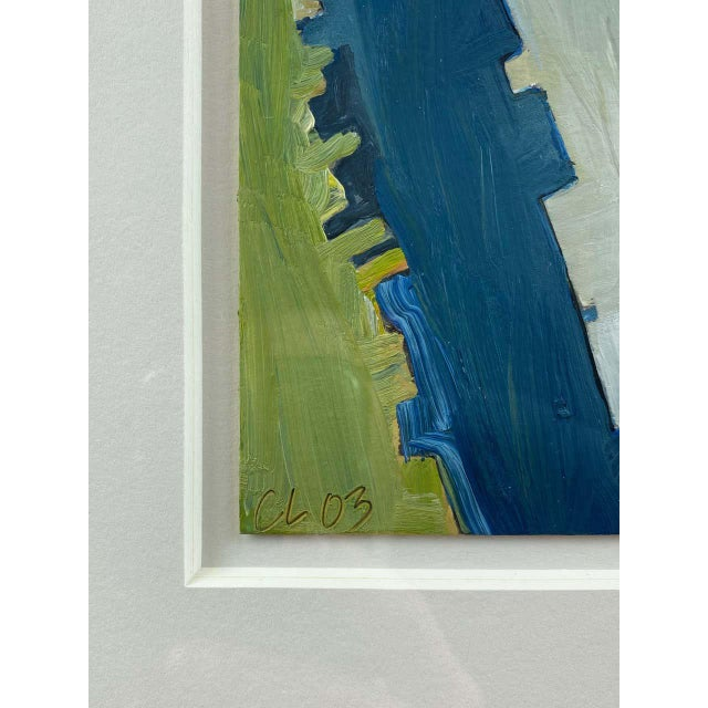 """Chase Langford """"Manhattan No. 1"""", Expressionist Oil Painting, 2003 For Sale - Image 10 of 13"""