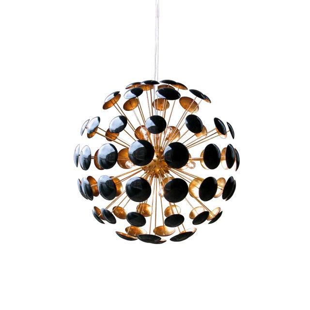 Mid-Century Modern Sputnik Style Bilbao Pendant Light by Solaria Lighting For Sale - Image 4 of 8