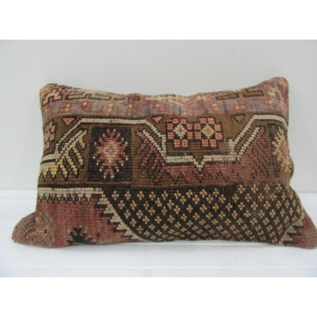 Handmade Vintage Kilim Pillow Cover For Sale - Image 4 of 4