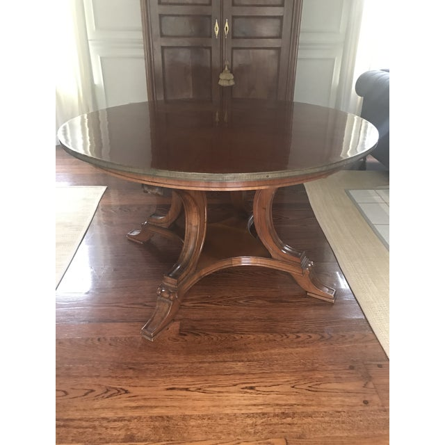 English Traditional 19th Century English Regency Mahogany Center Hall Table For Sale - Image 3 of 3