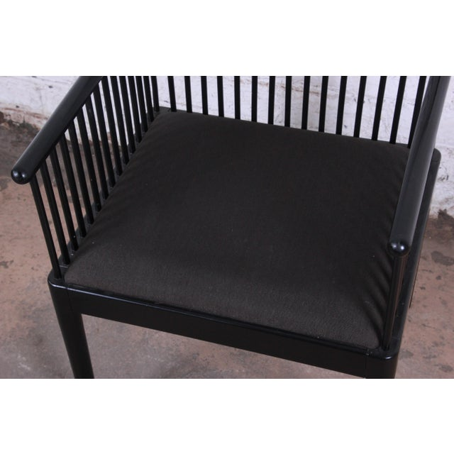 Stendig Andover Black Spindle Armchairs - a Pair For Sale - Image 11 of 13