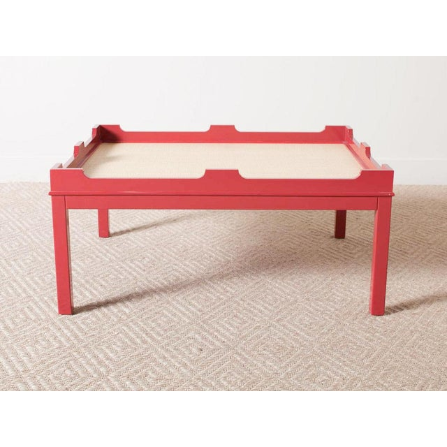 Hand-crafted from plantation grown poplar Lacquered red finish Available in other color options