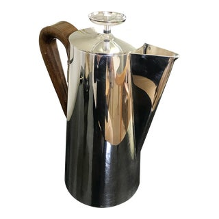 1950s Mid-Century Modern Tommi Parzinger Silver Coffee Pot