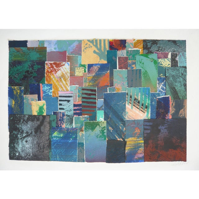Colorful Collage BFK Paper Print - Image 2 of 3