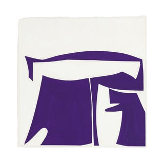 "Joanne Freeman ""Covers 13-Purple B"" Painting For Sale"