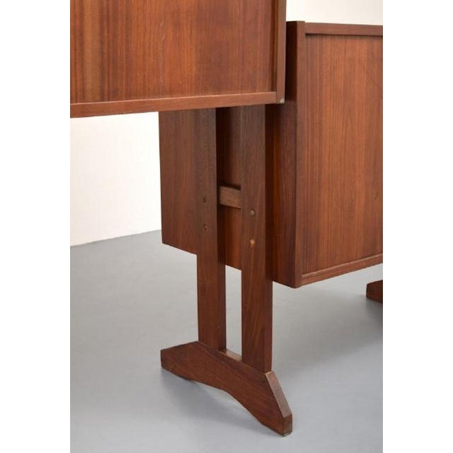 Mid-Century Modern Shelving Unit and Desk by Poul Cadovius, Denmark, 1965 For Sale - Image 3 of 9