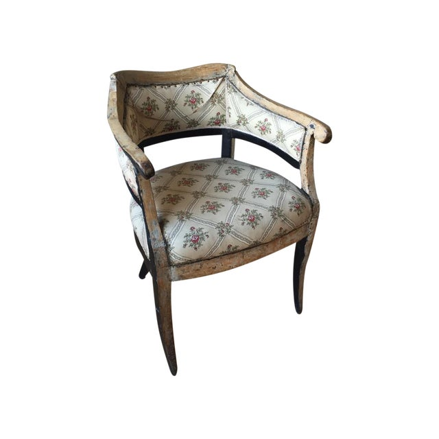Italian Antique Arm Chair For Sale