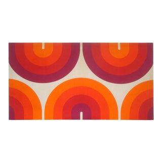 Marimekko Fabric Op Art Screenprint Wall Textile 1970s For Sale
