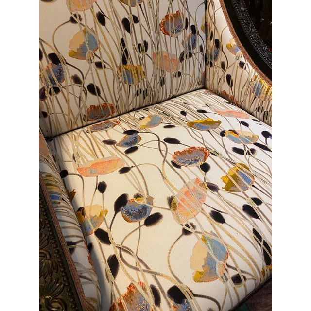 Wood 19th Century Mother of Pearl Inlay Chairs - a Pair For Sale - Image 7 of 12