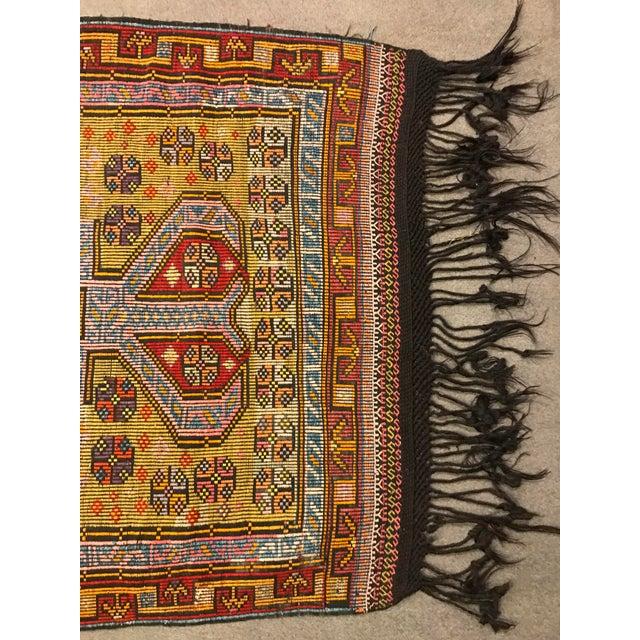 1900 - 1909 1900s TurkishVintag Colorful Tribal Wool Kilim Rug For Sale - Image 5 of 13