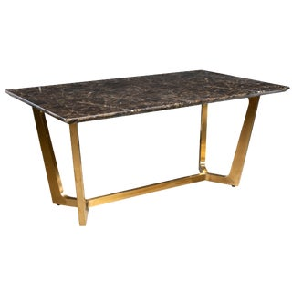 Tiana Marble Top Dining Table For Sale