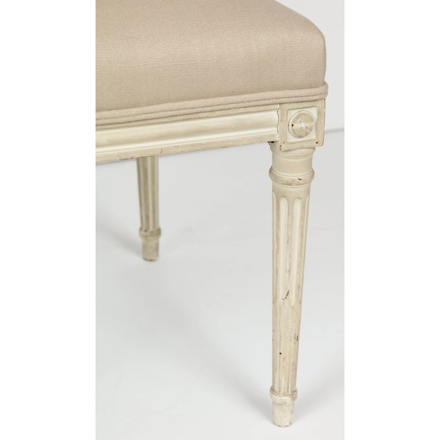 French Louis XVI Style Dining Chairs - Set of 6 For Sale - Image 3 of 8