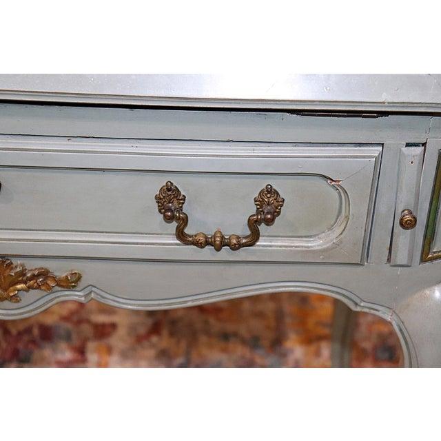 French Louis XV Style Secretary Desk For Sale In Philadelphia - Image 6 of 12