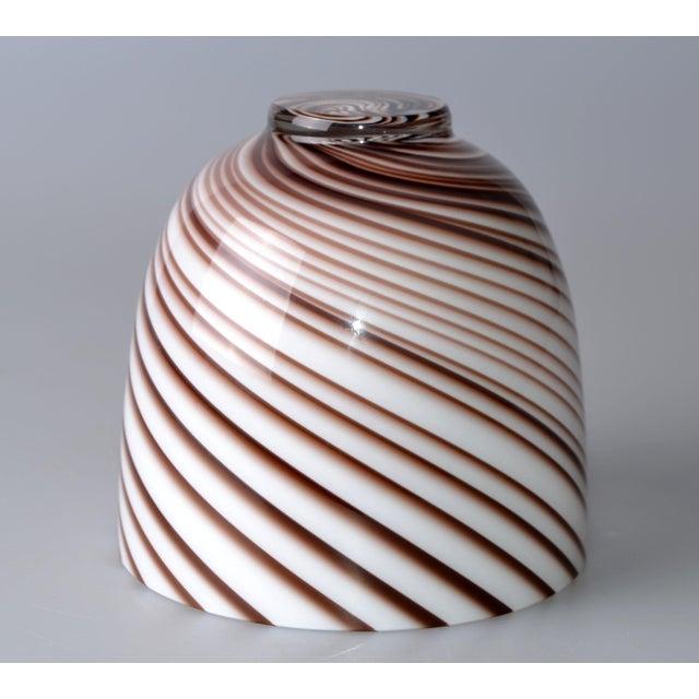 Glass Original Tommaso Barbi Italian Murano Decorative Bowl / Vase For Sale - Image 7 of 10