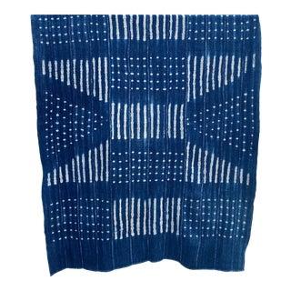 Mali Indigo Stripe Textile Throw