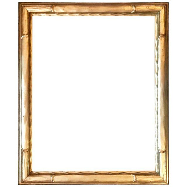 Wood 1920s Vintage American Classic Taos School Arts & Crafts Period Frame For Sale - Image 7 of 7