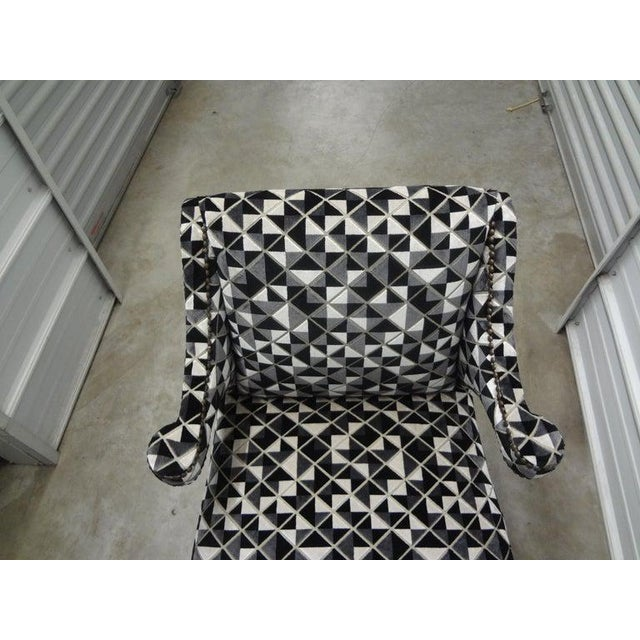 James Mont Inspired Ebonized Chairs With Hoof Feet-A Pair For Sale - Image 9 of 13