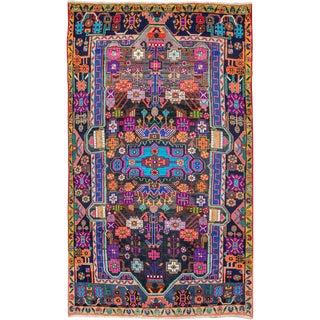 "Vintage Persian Hamadan Rug – Size: 4' 2"" X 7' 5"" For Sale"