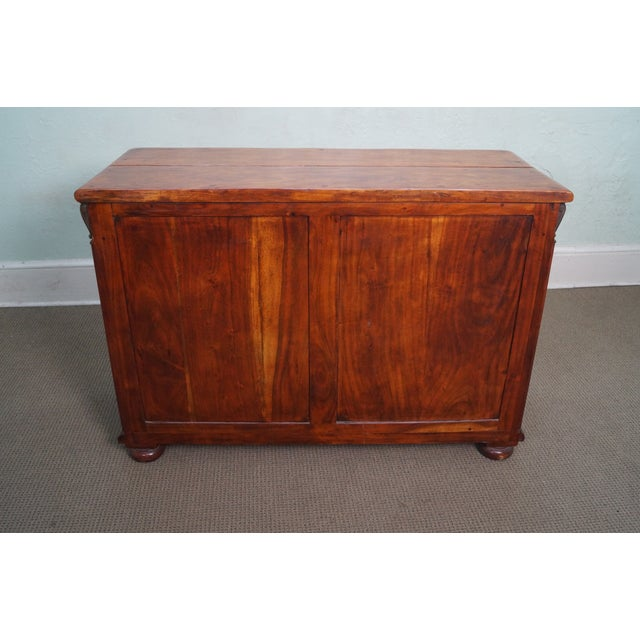 Quality Solid Mahogany Rustic Continental Server - Image 4 of 10