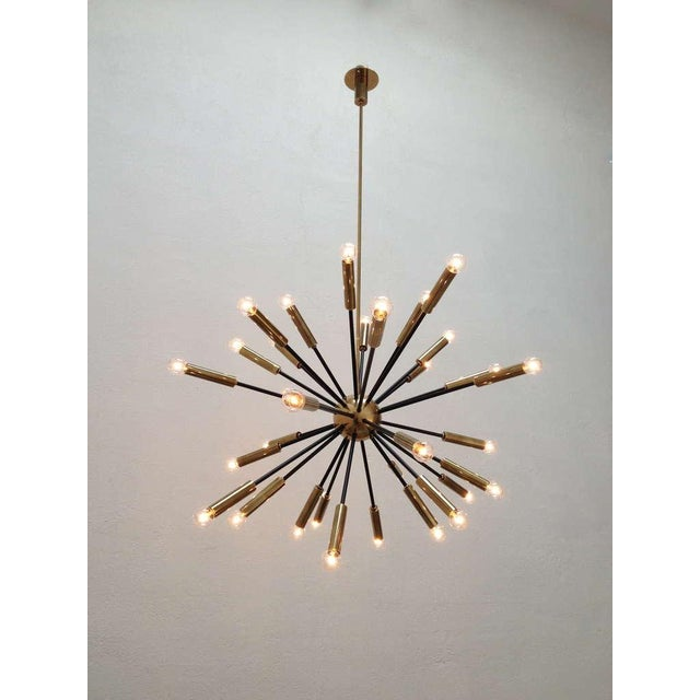 Elliptical Sputnik Chandelier - Image 2 of 10