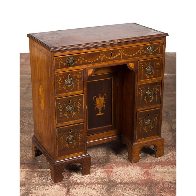 18th-Century Petite Georgian Inlaid Desk - Image 2 of 10