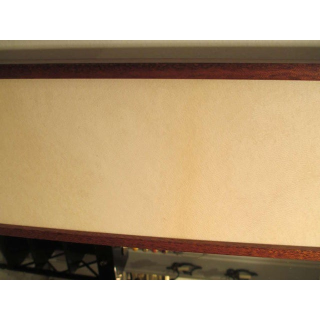 2000 - 2009 Custom Rectangular Parchment Mirror For Sale - Image 5 of 6