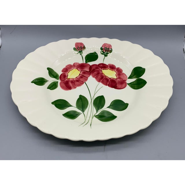 Blue Ridge Southern Pottery Mirror Image Platter For Sale - Image 4 of 10