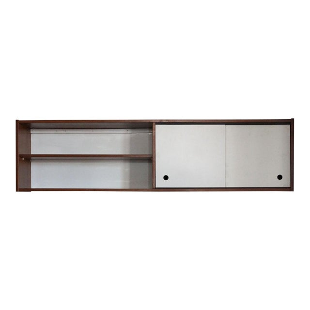 Mid-Century Wall Cabinet For Sale