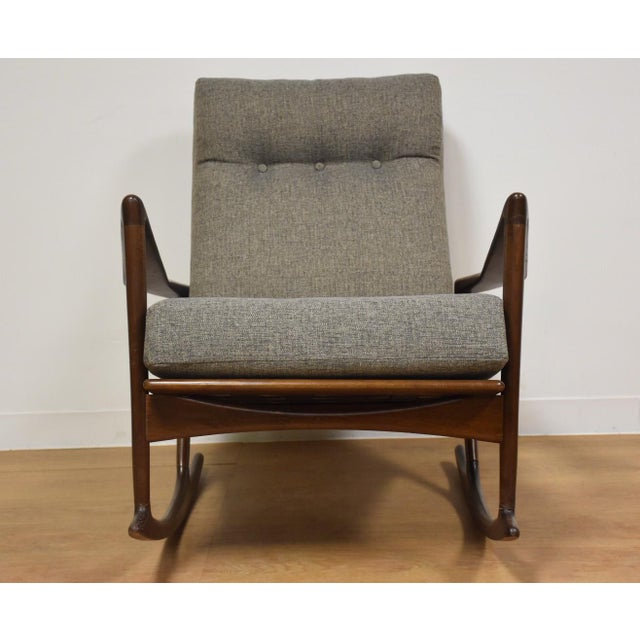 Ib Kofod Larsen for Selig Rocking Chair - Image 5 of 11