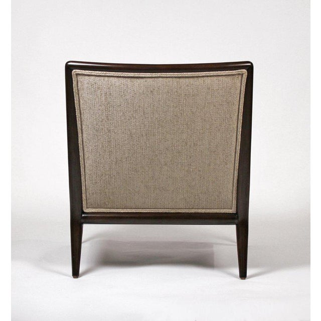 1950s Pair of Classic Lounge Chairs by t.h. Robsjohn-Gibbings For Sale - Image 5 of 9