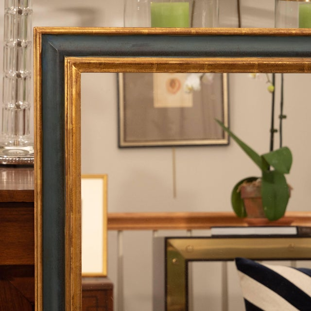 Italian Italian Painted and Parcel-Gilt Mirror For Sale - Image 3 of 6