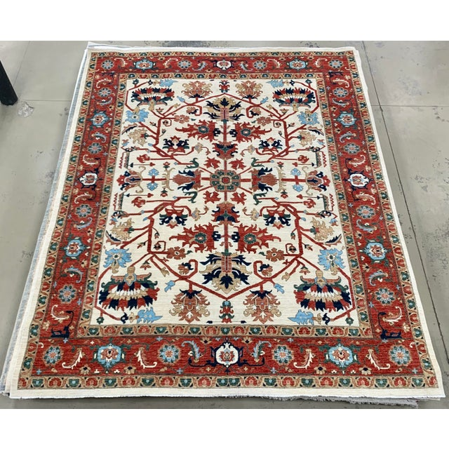 "Contemporary Hand Weaved Kazak Rug-11'8"" X 14'5"" For Sale - Image 12 of 12"