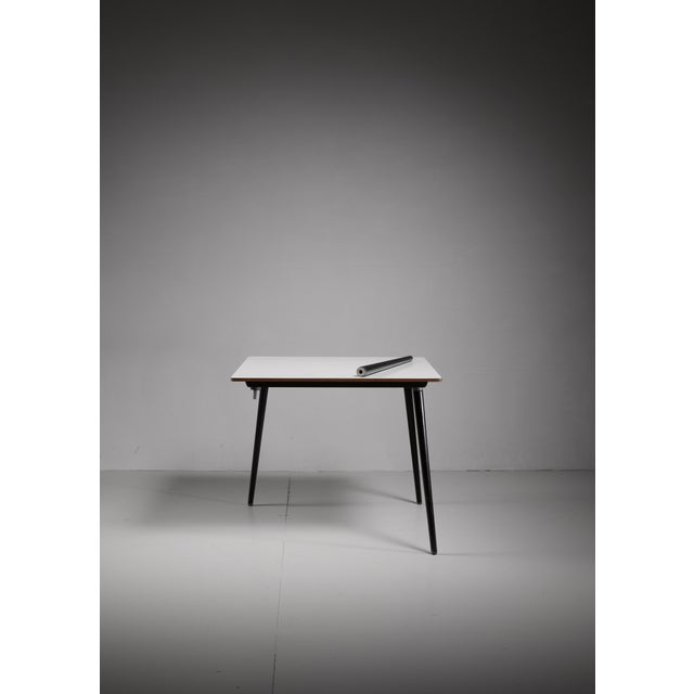 Mid-Century Modern Small dining or kitchen DTW table by Charles Eames for Herman Miller For Sale - Image 3 of 5