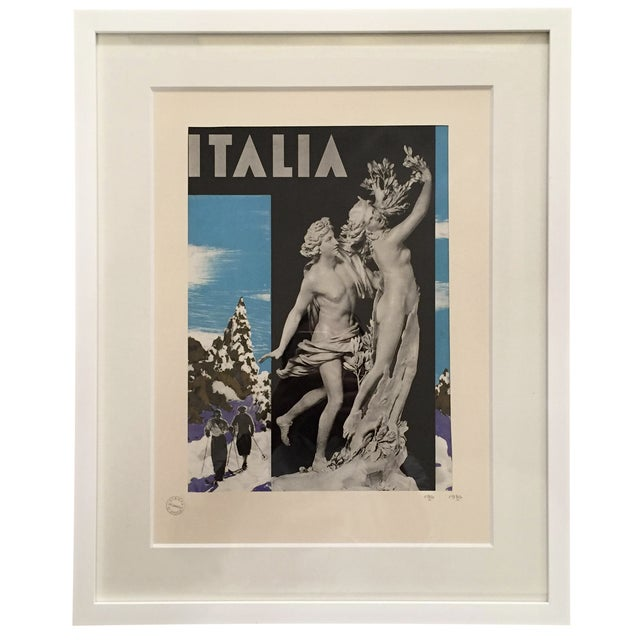 1936 Vintage Advertising Tourism Print Italia - Image 1 of 5