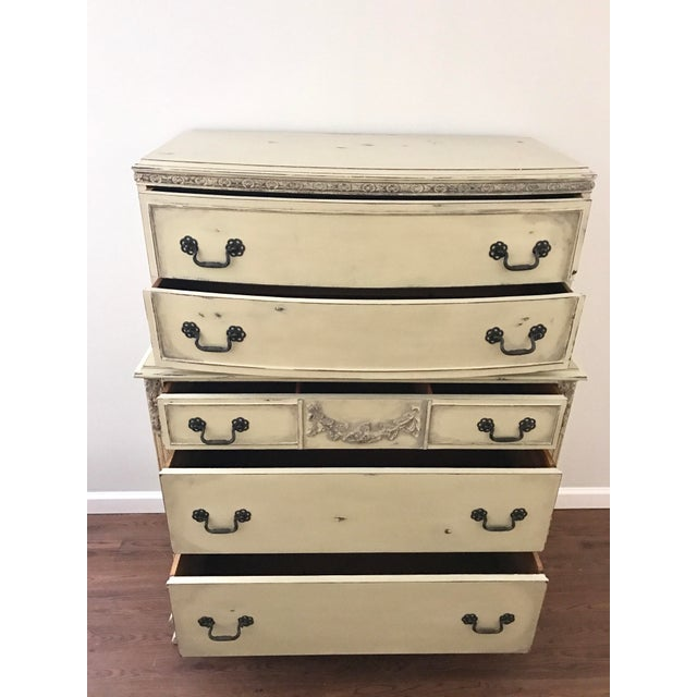 Country Grey French Tall Dresser - Image 5 of 8