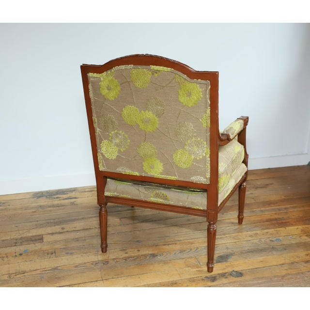 Edward Ferrell Fauteuil From Waldorf Astoria New York For Sale - Image 4 of 11