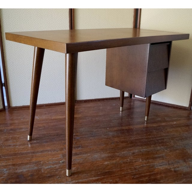 Barzilay Mid-Century California Modern Desk - Image 4 of 11