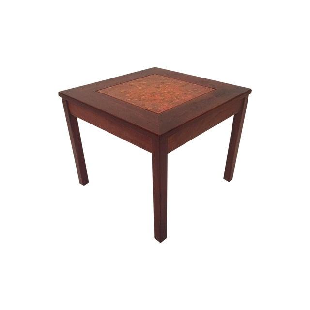 John Keal for Brown Saltman Tile Top Table For Sale
