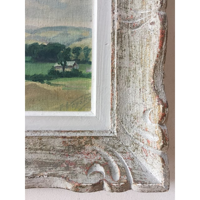 Country Mid-Century American Impressionist Painting For Sale - Image 3 of 7