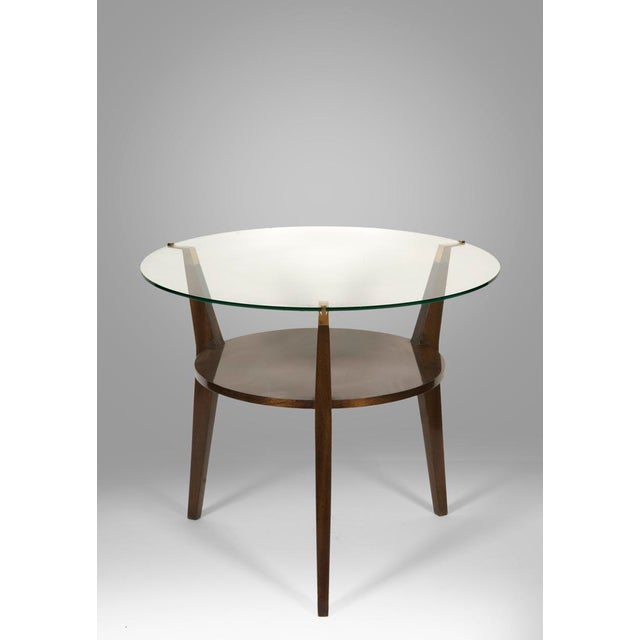 French 1950 Guéridon or Side Table For Sale - Image 6 of 6